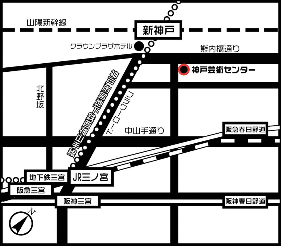 神戸芸術センター/芸術文化事業 タワー型 高級賃貸住宅 複合 ...
